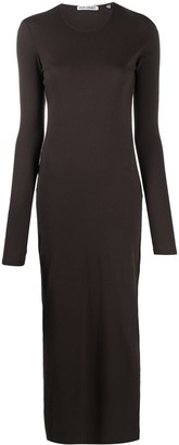 Our Legacy Cut-Out Fitted Maxi Dress