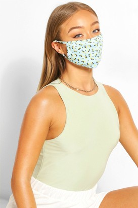 boohoo Ditsy Print Fashion Face Mask
