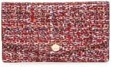 Lodis Large Mel Printed Suede RFID Flap Card Case