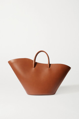 Little Liffner Tulip Large Leather Tote - Brown