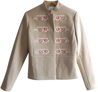 Vilshenko Beige Wool Jacket for Women