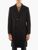 Éditions MR Navy Double-Breasted Wool Coat