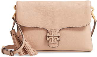 Tory Burch McGraw Foldover Leather Crossbody