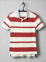 Gant Awning Stripe Heavy Rugger Polo Shirt