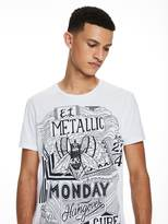 Scotch & Soda Large Artwork T-Shirt