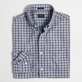J.Crew Factory Slim tattersall washed shirt in end-on-end cotton