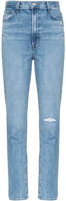 J Brand Runway 1212 distressed skinny jeans