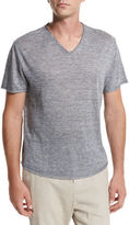 Vince Gaskell Raw-Edge V-Neck T-Shirt