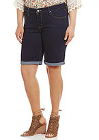 "Levi's Plus Rolled Cuff 11"" Shaping Bermuda Shorts"