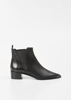 Acne Studios black jensen ankle boot