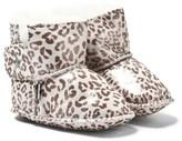 Molo Grey Leopard Dust Baby Shoes