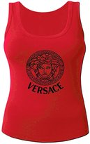 Versace Logo For 2016 Women Printed Tanks Tops Sleeveless T-shirt