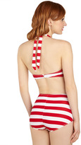 Esther Williams Snack Bar Beauty Two-Piece Swimsuit in Red