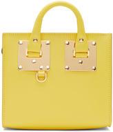 Sophie Hulme Yellow Albion Box Tote