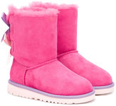 UGG Bailey Bow boots - kids - Leather/Suede/Polyester/rubber - 25