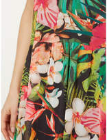 George Floral Mesh 2-in-1 Dress