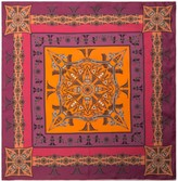 Vietnam Mandala Bandana Silk Twill Scarf