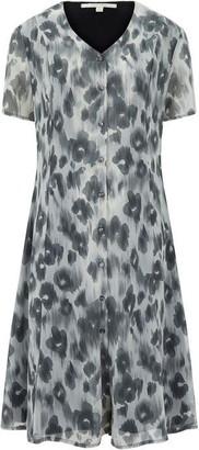 Nougat Cannes Blurred Poppy Dress