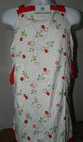 Martha Stewart Collection Apron Cherry Design Style : 893683