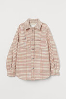 H&M Jacquard-weave Shirt Jacket
