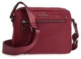 Celine Dion Presto Nylon Crossbody Bag - Burgundy