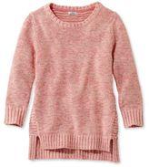 L.L. Bean Women's Marled Tape-Yarn Sweater, Three-Quarter-Sleeve Pullover