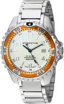 Momentum Women's Quartz Stainless Steel Diving Watch, Color:Silver-Toned (Model: 1M-DN11LO0)