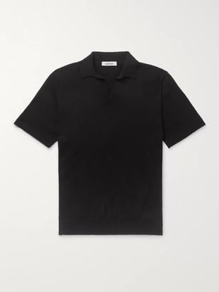 Saman Amel Slim-Fit Cotton Polo Shirt
