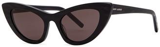 Saint Laurent SL213 Lily Tiger-print Sunglasses