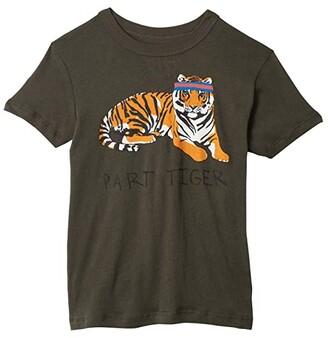 Chaser Extra Soft Cotton Traffic Jam Short Sleeve Tee (Little Kids/Big Kids) (Safari) Boy's T Shirt