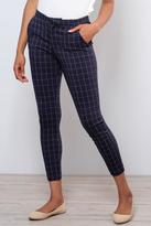 Ichi Grid Pattern Pants