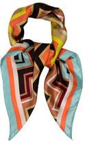 Missoni Moschino Silk Multicolor Scarf