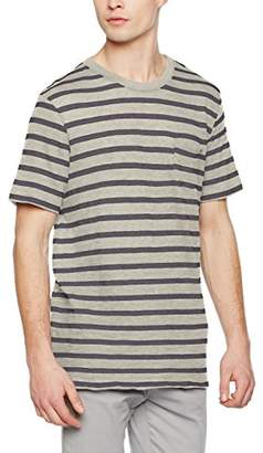 Jack and Jones Vintage Men's 12117008 Regular Fit Short Sleeve T - Shirt - Multicolour - Small