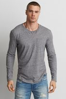 American Eagle Outfitters AE Long Sleeve Pocket Crew T-Shirt