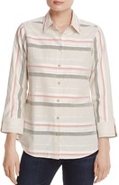 Foxcroft Stripe Button Down Shirt