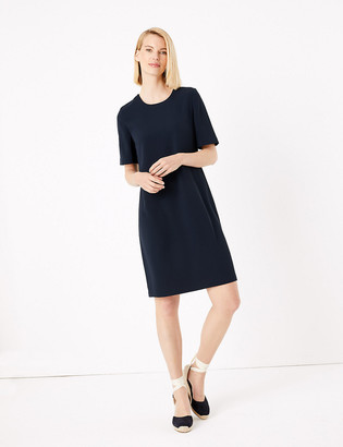 Marks and Spencer Crepe Shift Dress