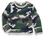 Infant Boy's Tucker + Tate Camo Sweater