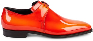 Arca Corthay Pullman Patent Leather Derbys