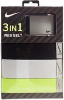 Nike Men's 3-in-1 Web Belt Pack