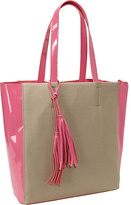 Jesselli Couture East/West Scroll Flap Tote