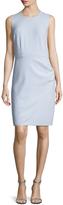 Ava & Aiden Women's Overlap Skirt Sheath Dress