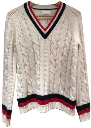 Kay Unger White Wool Knitwear for Women