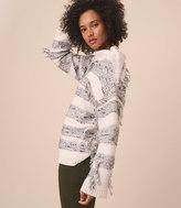 LOFT Lou & Grey Fringeout Sweater