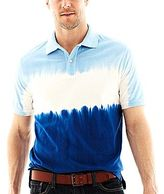 JCPenney St. John's Bay® Tie-Dyed Jersey Polo Shirt