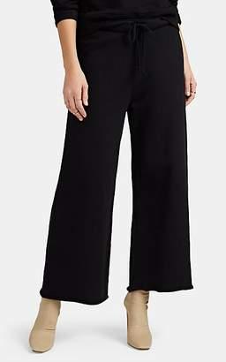 Nili Lotan Women's Kiki Cotton Crop Jogger Pants - Black
