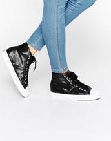 Gola Coaster Metallic High-Top Sneaker