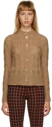 Marni Beige Knit Cardigan