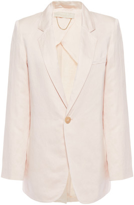 Vanessa Bruno Leto Linen And Cotton-blend Blazer