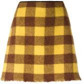 No.21 checked skirt - women - Acetate/Viscose/Alpaca/Virgin Wool - 40