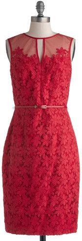 Maggy London Intl. LTD Poinsettia Party Dress
